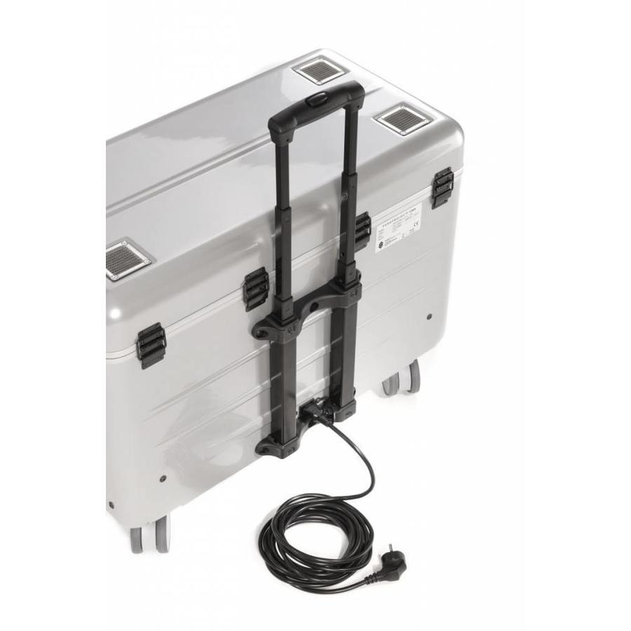 i20 Mobile Ladekoffer für 20 iPads, mit Fächern schwarz-8