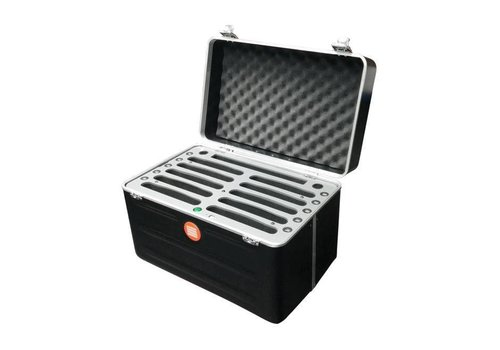 "Parotec-IT charge & sync C525 Koffer für 10 Pads mini und Tablets bis 8"""