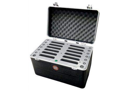"Parotec-IT charge & sync iNsync C547 Koffer für 12 Pads mini und Tablets bis 8"""