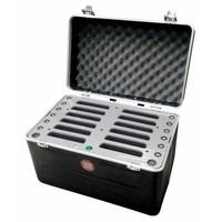 """thumb-iPad mini transportkoffer mit Ladefunktionen für 12 iPad mini und tablets bis 8""""; inCharge C457-1"""