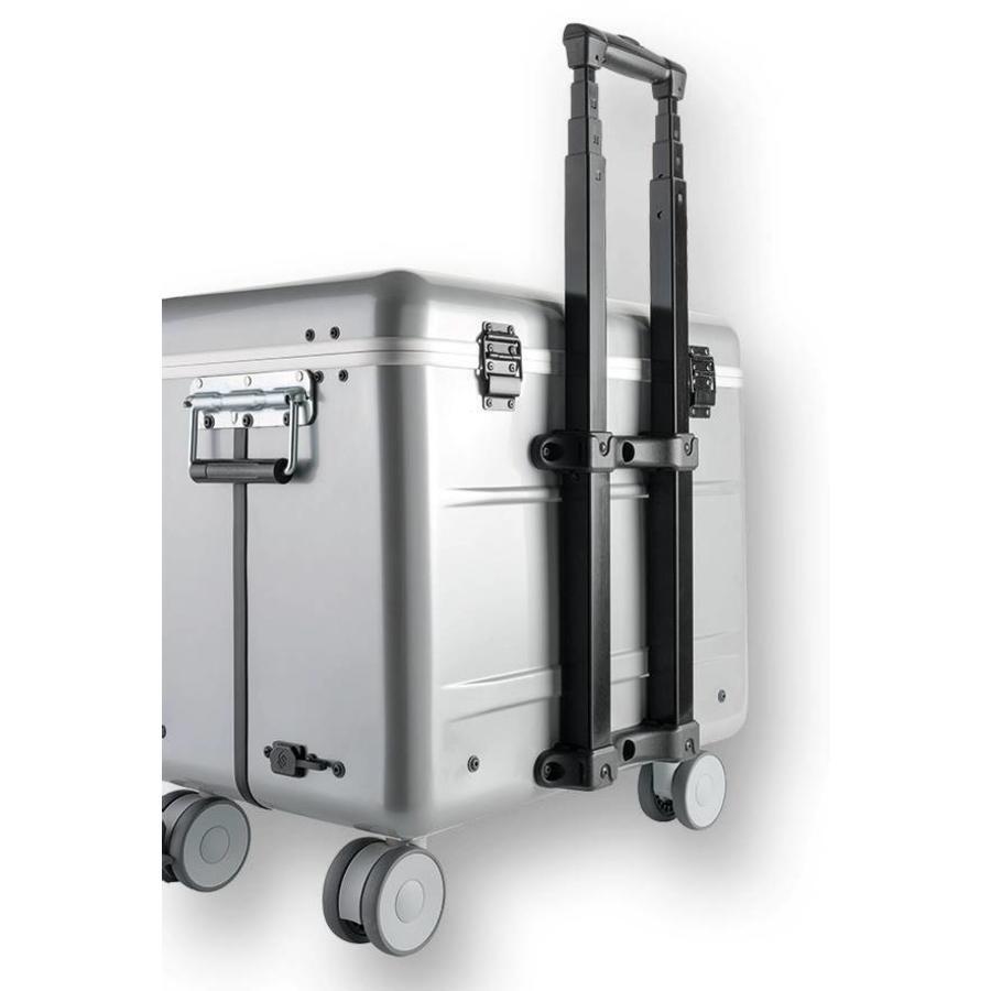 """Mobiele ladeschale silber für 10x 15"""" Chromebooks, C10 trolley koffer, mit zehn compartimenten-6"""