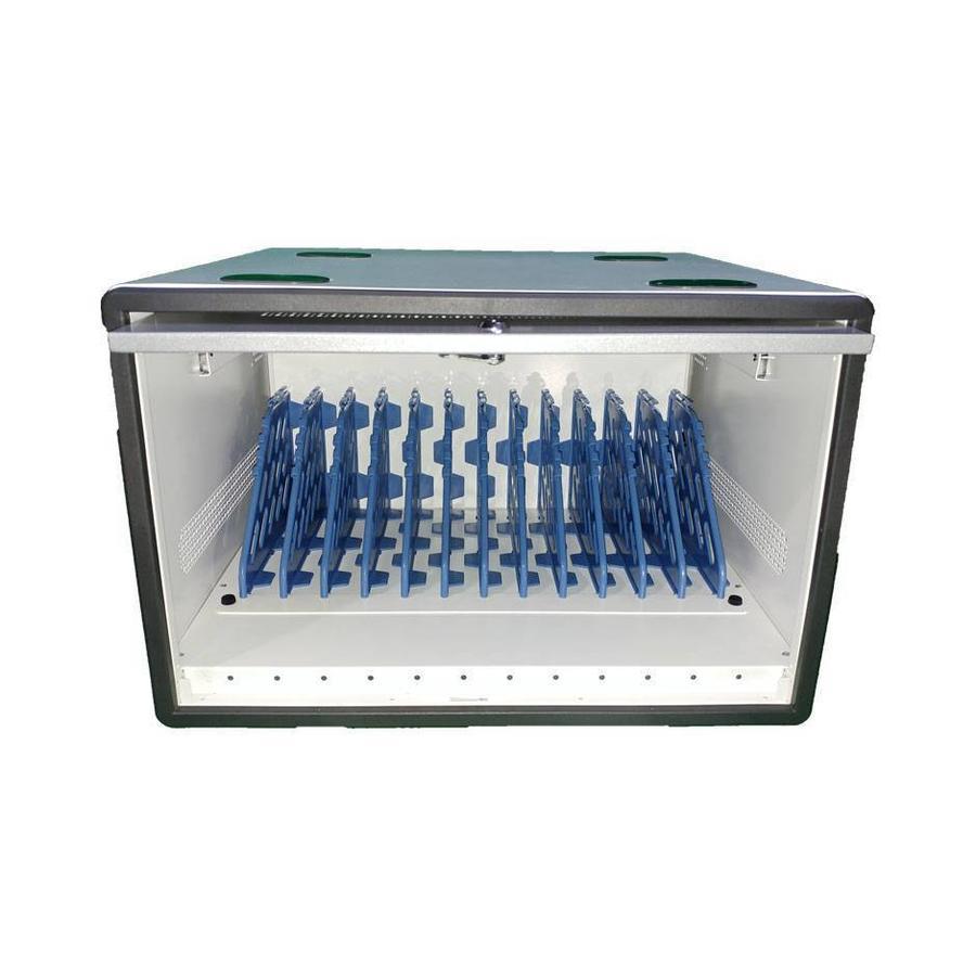 D12 MultiCharger modularer Aufbewahrungs-, Lade- und Synchronisationsschrank für 12 iPads oder andere Tablets-4