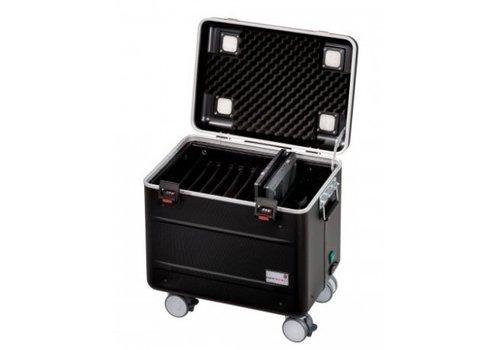 """Parat charge C10 Koffer für 10 Chromebooks bis 15"""" mit fächereinteilung schwarz"""