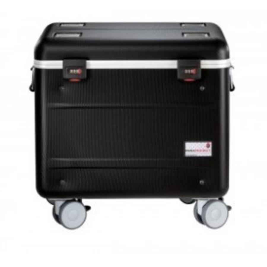 """Mobiele ladeschale schwarz für 10x 15"""" Chromebooks, C10 trolley koffer, mit zehn compartimenten-2"""