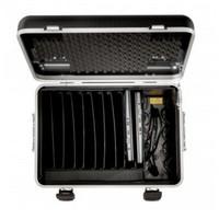 """thumb-Mobiele ladeschale schwarz für 10x 15"""" Chromebooks, C10 trolley koffer, mit zehn compartimenten-3"""