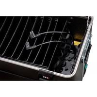 """thumb-Mobiele ladeschale schwarz für 10x 15"""" Chromebooks, C10 trolley koffer, mit zehn compartimenten-4"""
