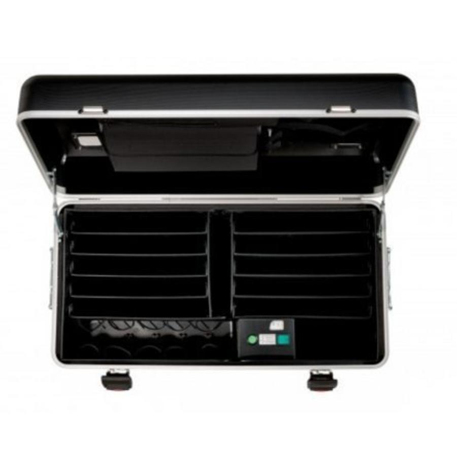 Parat N10 Trolley Koffer Notebooks für 10 x 15,6'' in Schwarz-2