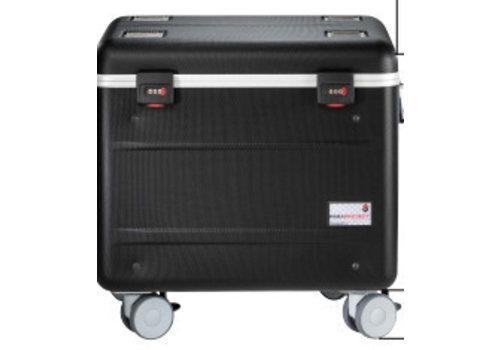 Parat charge & sync i10S Koffer für 10 iPads mit KidsCover einschliesslich lightning Kabels ohne fächereinteilung schwarz