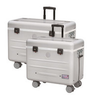 thumb-A16 Koffer mit 16 Fächern  weiß-1