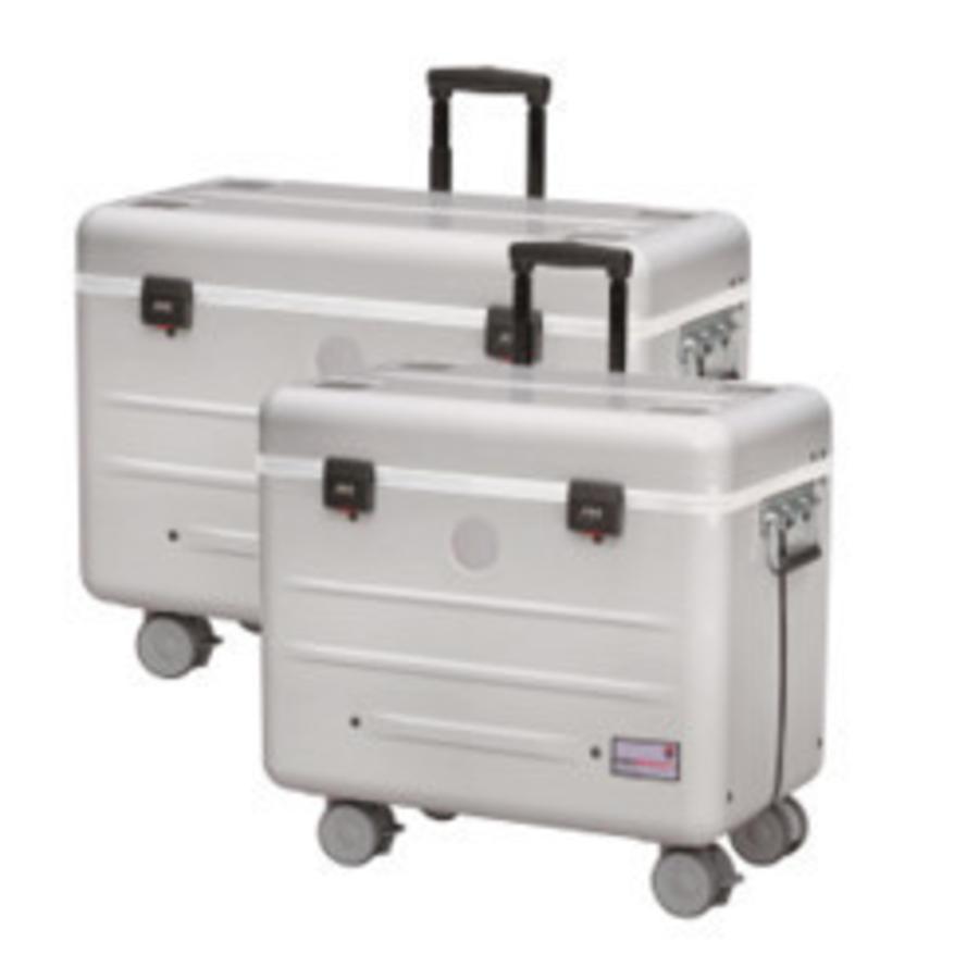 A16 Koffer mit 16 Fächern  weiß-1