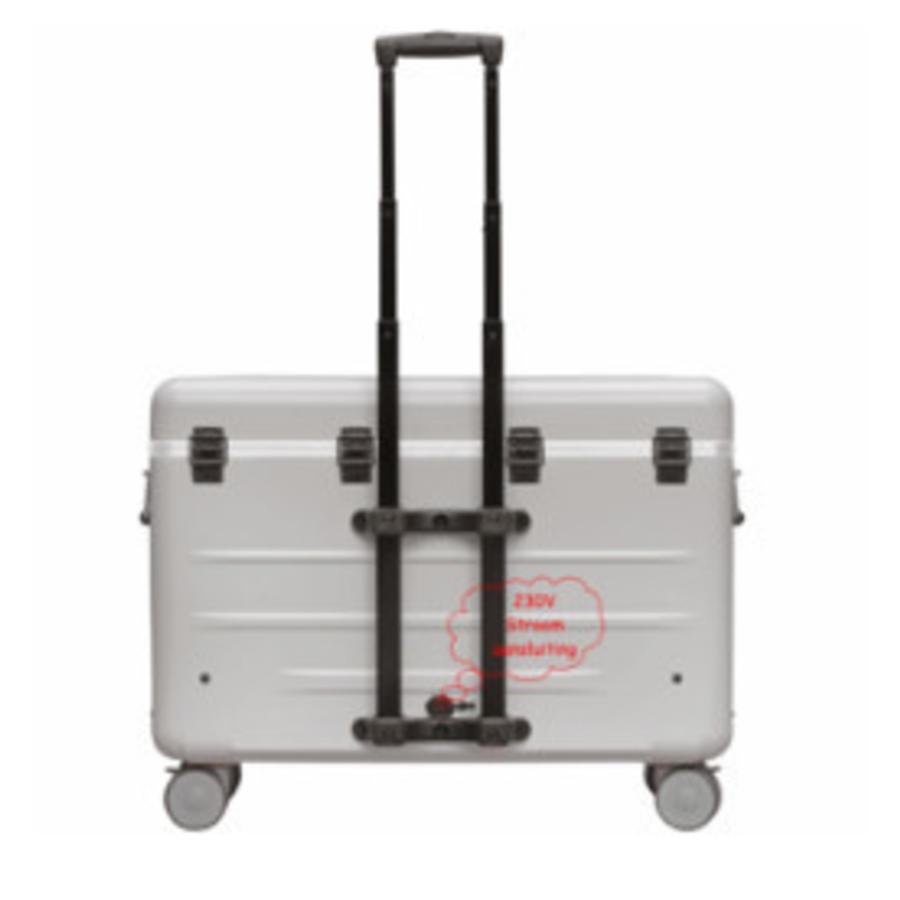 A16 Koffer mit 16 Fächern  weiß-2