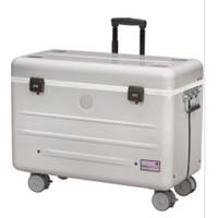 thumb-Paraproject N12 Trolley Koffer nur aufladen weiß-1