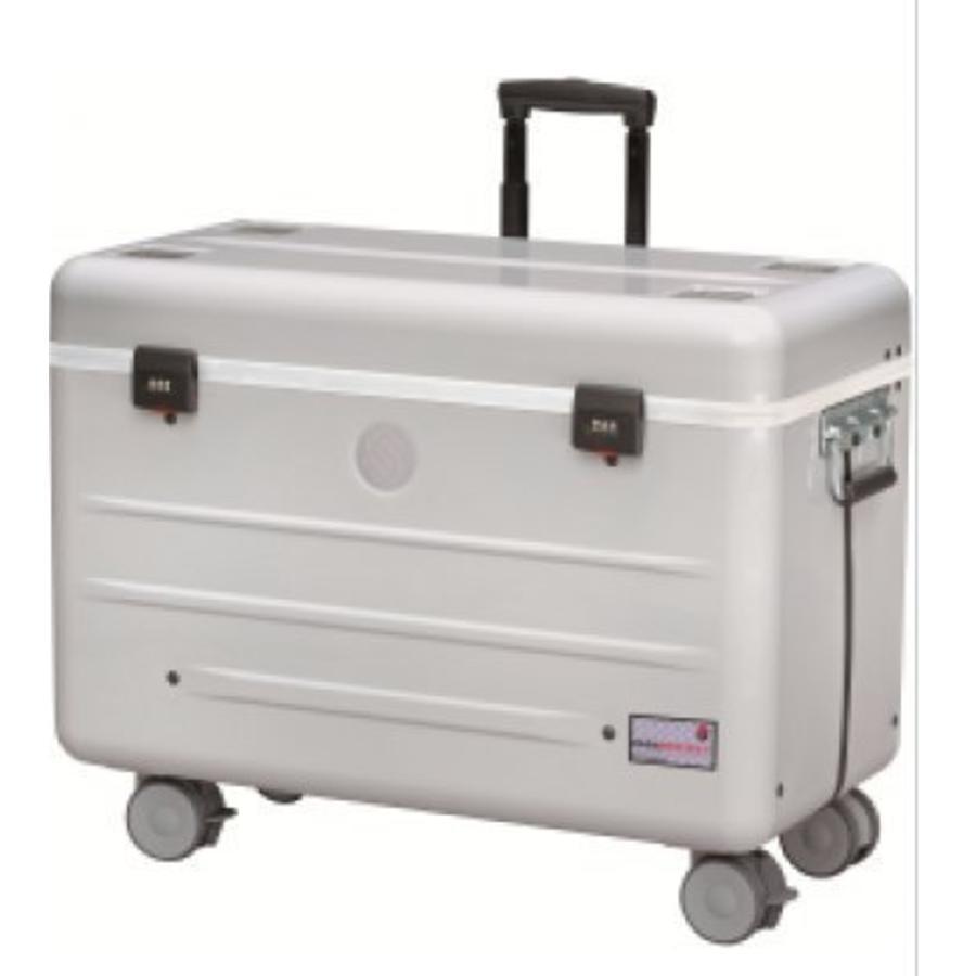Paraproject N12 Trolley Koffer nur aufladen weiß-1