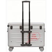 thumb-Paraproject N12 Trolley Koffer nur aufladen weiß-2