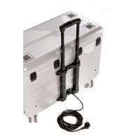 thumb-Paraproject N12 Trolley Koffer nur aufladen weiß-4