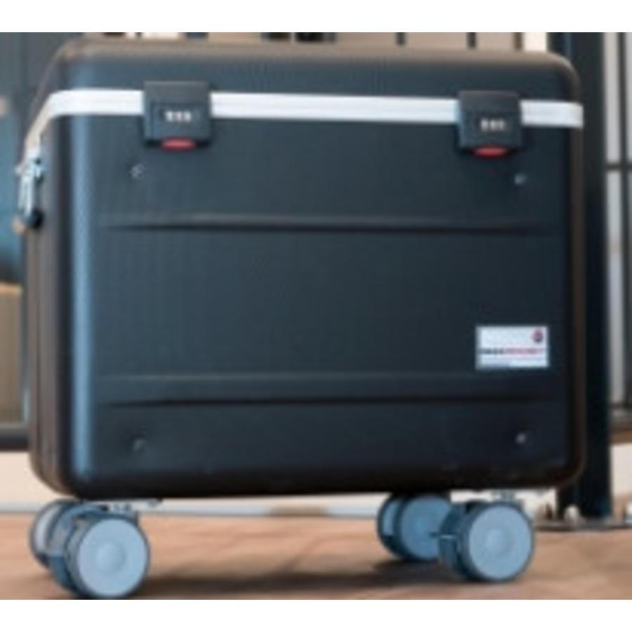 Paraproject N12 Trolley Koffer nur aufladen schwarz-1