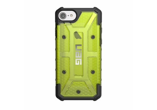 UAG Handyhuelle Plasma fuer iPhone 8/7/6S citron grun clear