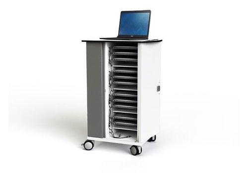 """Zioxi Ladewagen  für 16 Chromebook/Macbook/Laptop/Tablet bis 14"""""""