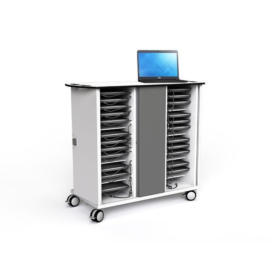 Zioxi Chromebook / Laptop / Tablet-Ladewagen für 16 Geräte-8