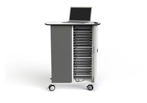 """Zioxi Ladewagen  für 20 Chromebook/Macbook/Laptop/Tablet bis 14"""""""