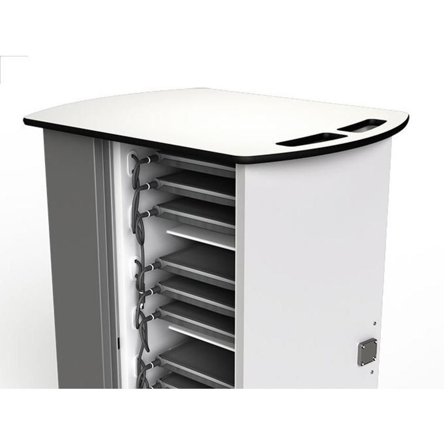 Mobile Ladeschrank für bis zu 20 Macbooks/ Chromebooks / Laptops / Tablets mit ein maximale Bildschirmabmessung bis 14 Zoll-6