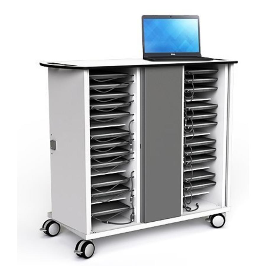 """Ladewagen 32 Chromebooks und Laptops bis 14""""; HP & Acer 14"""" Chromebooks, MacBook Air 13"""".-1"""