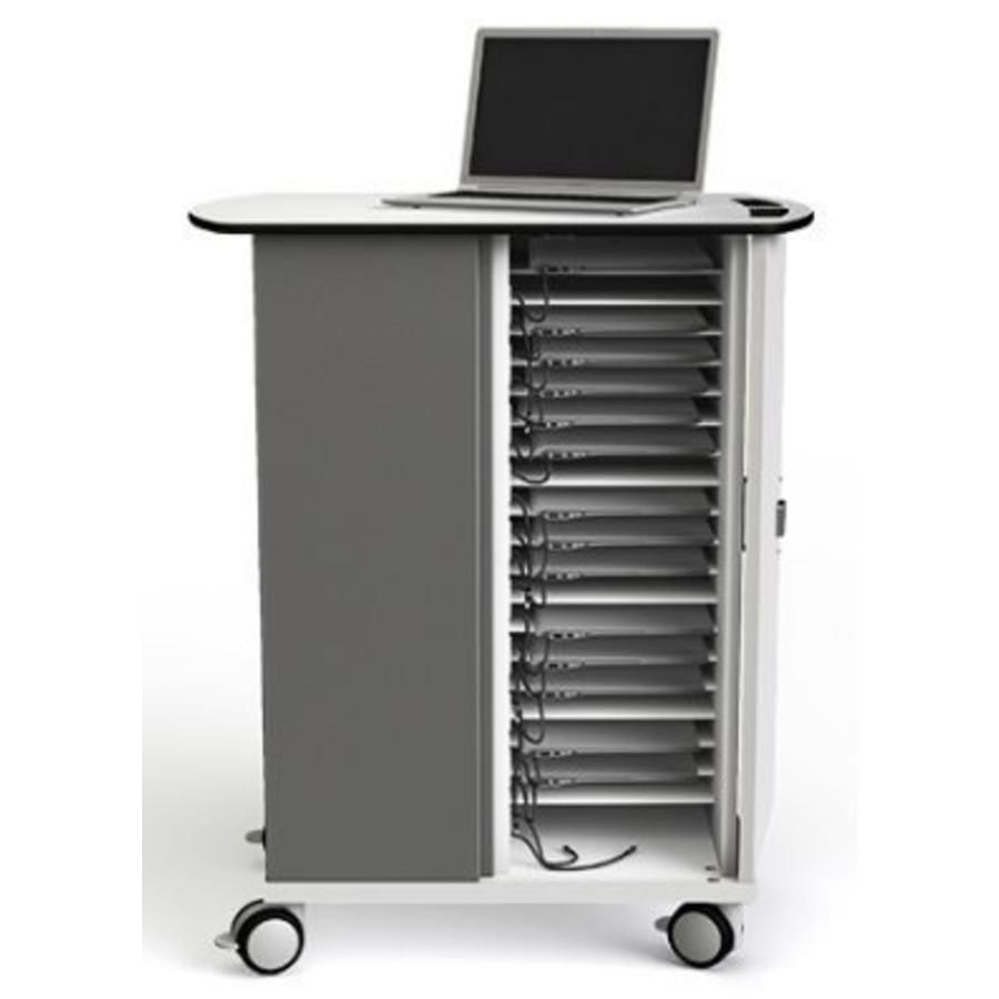 """Ladewagen 32 Chromebooks und Laptops bis 14""""; HP & Acer 14"""" Chromebooks, MacBook Air 13"""".-5"""
