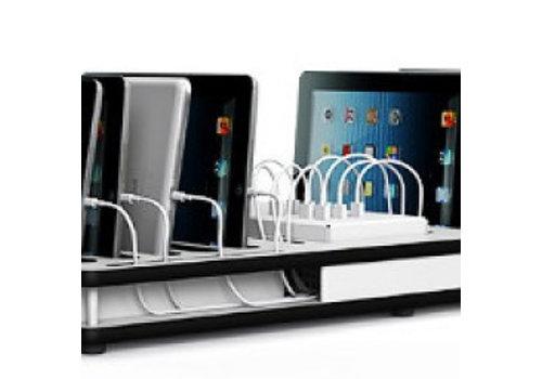"""Zioxi charge & sync Ladedeck für 10 iPads und 9""""-11"""" Tablets"""