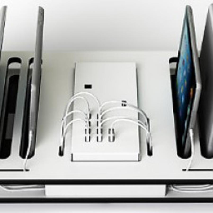 Desktop-Docking-Ladestation mit Synchronisation 10 iPads und Tablets-1