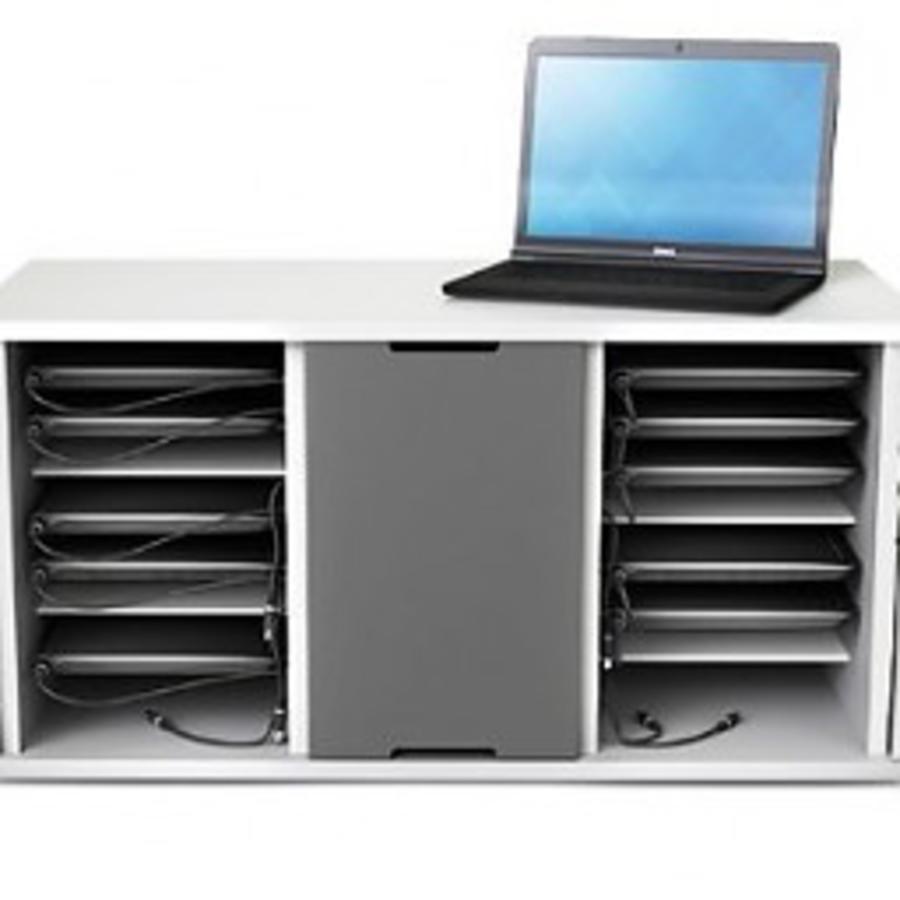 Ladeschrank voor 16 (8 + 8) Chromebooks bis 14 Zoll-1