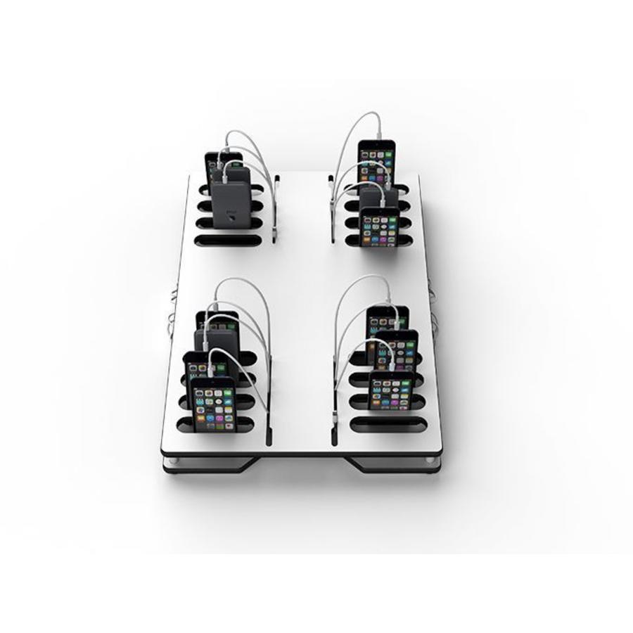 Lade und synchronisierender Desktop 16 Smartphones, iPods-1