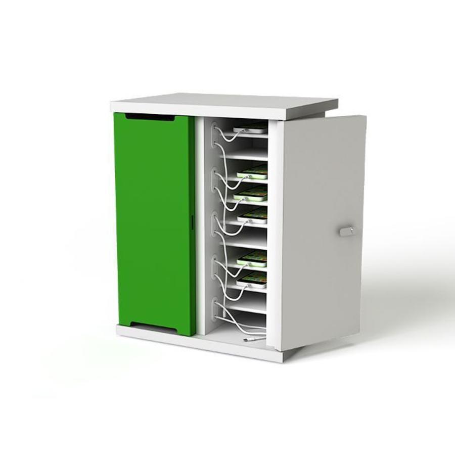 Ladeschrank  aufladen  und synchronisieren  von 10  Smartphone,  iPod Geräten-2