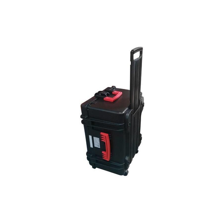 Tabletkoffer für lagern, transportieren und synchronisieren von 16 Tablets, Direkte Verbindung von Tablet zum Kabelstecker, Tablet in Schutzhülle-5