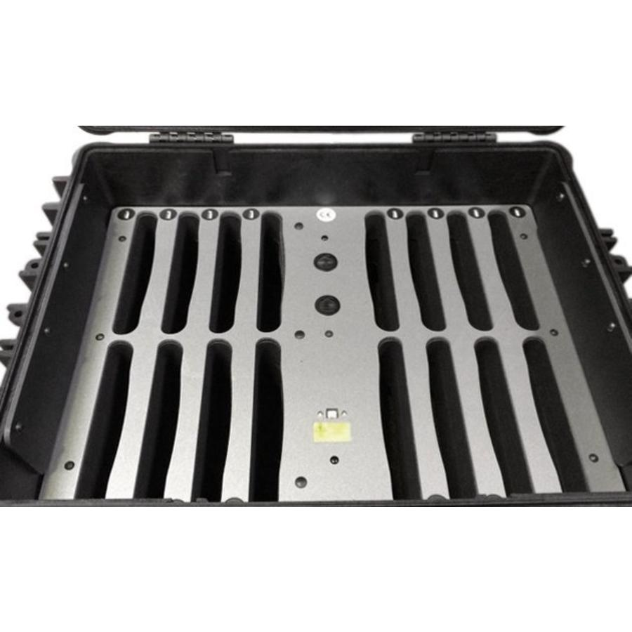 iNsync C81 Lager-, Lade-, Synchronisations- und Transportkoffer für bis zu 16 iPads oder 9-11 Zoll-Tablets-2
