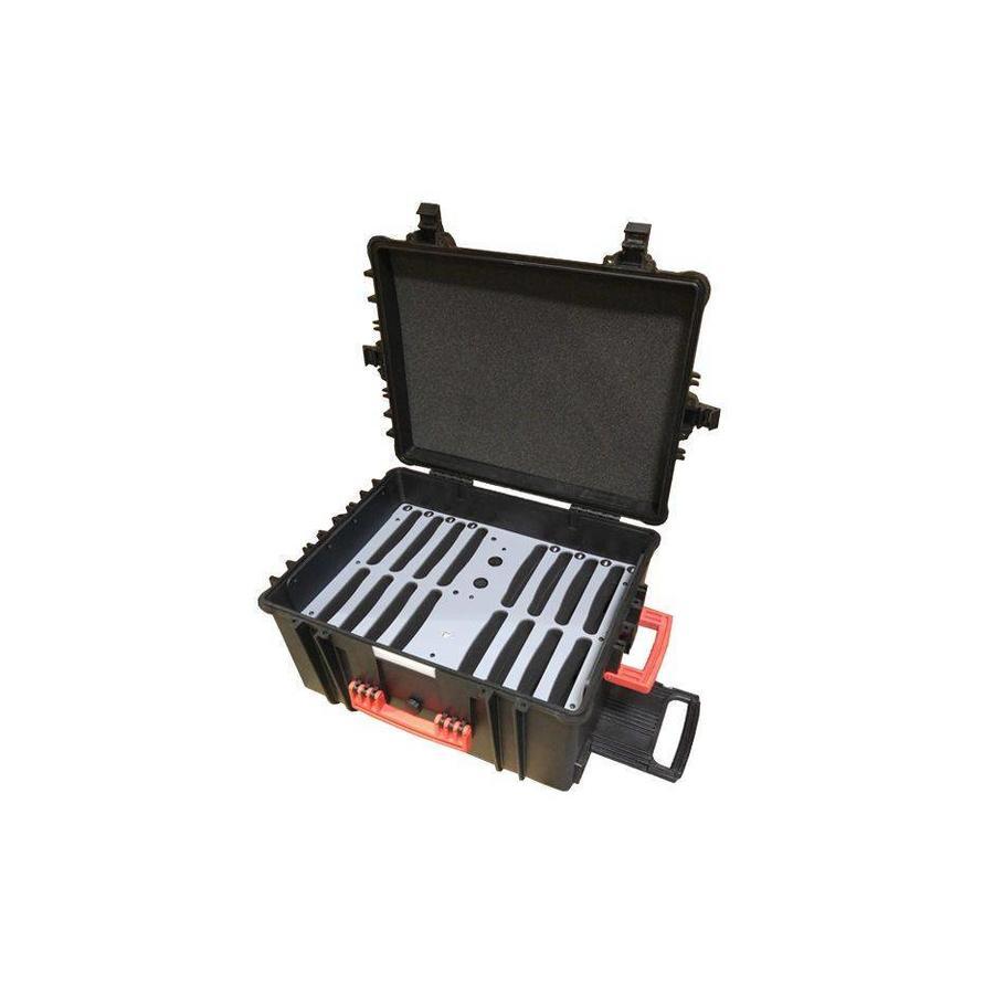 iNsync C81 Lager-, Lade-, Synchronisations- und Transportkoffer für bis zu 16 iPads oder 9-11 Zoll-Tablets-3