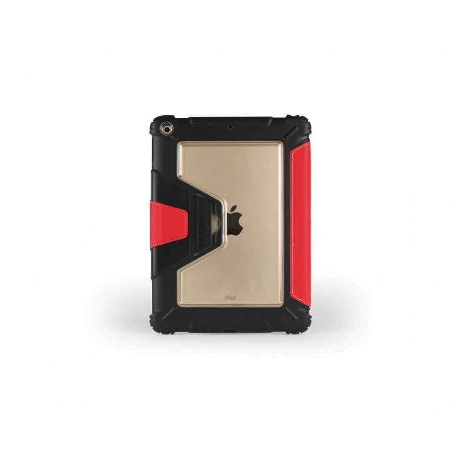 "Max-Cases ''eXtreme folio"" für iPad (gen 5 2017) rot-3"