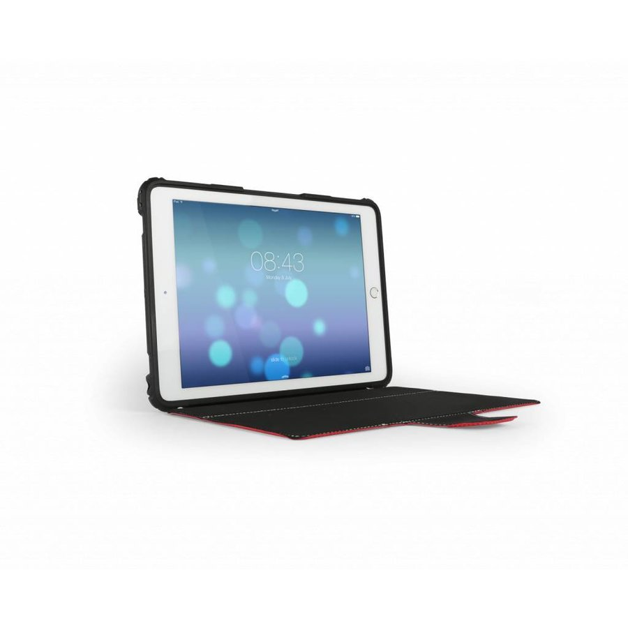 "Max-Cases ''eXtreme folio"" für iPad (gen 5 2017) rot-8"
