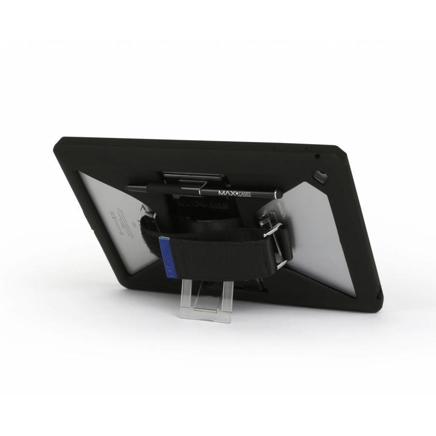 """Max-Cases """"eXtreme"""" für iPad Air 2 schwarz mit integriertem Handschlaufe-2"""