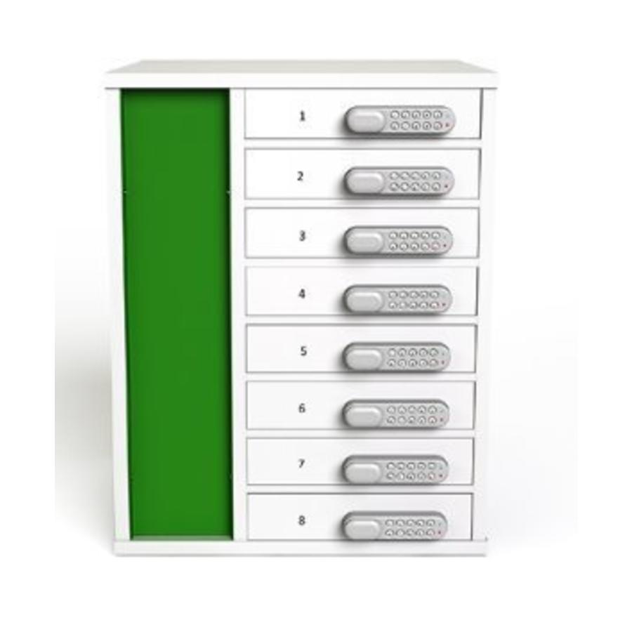 """Ladeschrank mit 10 separat abschliessbare Fächer für Tablets und iPads zwischen 9""""-11""""-2"""