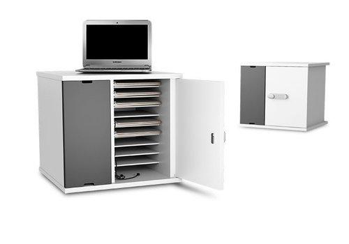 """Zioxi Ladeschrank für 10 Chromebooks, Macbooks, Laptops, Tablets bis 14"""""""