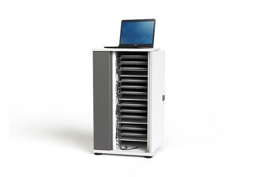 """Zioxi Ladeschrank für 16 Chromebooks, Macbooks, Laptops, Tablets bis 14"""""""