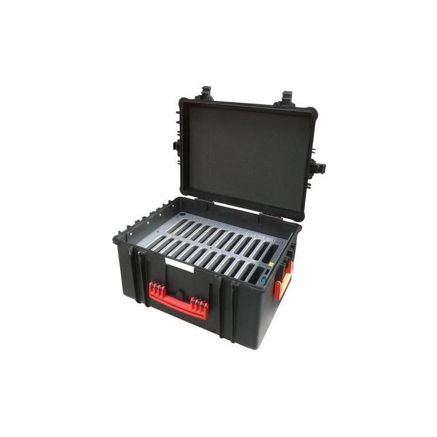 iNsync C60 Speicher-, Lade-, Synchronisations- und Transportkoffer für bis zu 24 iPad Mini oder 7-8 Zoll Tablets-7