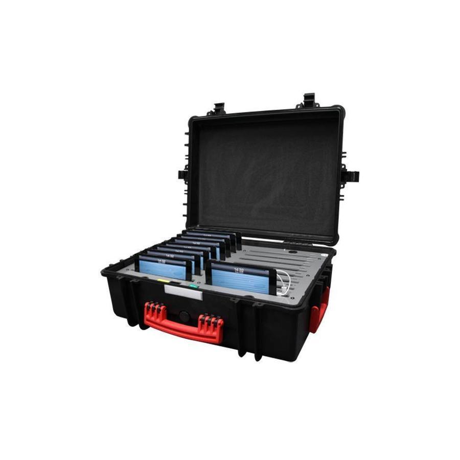 iNsync C34 Speicher-, Lade-, Synchronisations- und Transportkoffer für bis zu 16 kleine iPads oder 7-8 Zoll-Tablets-4