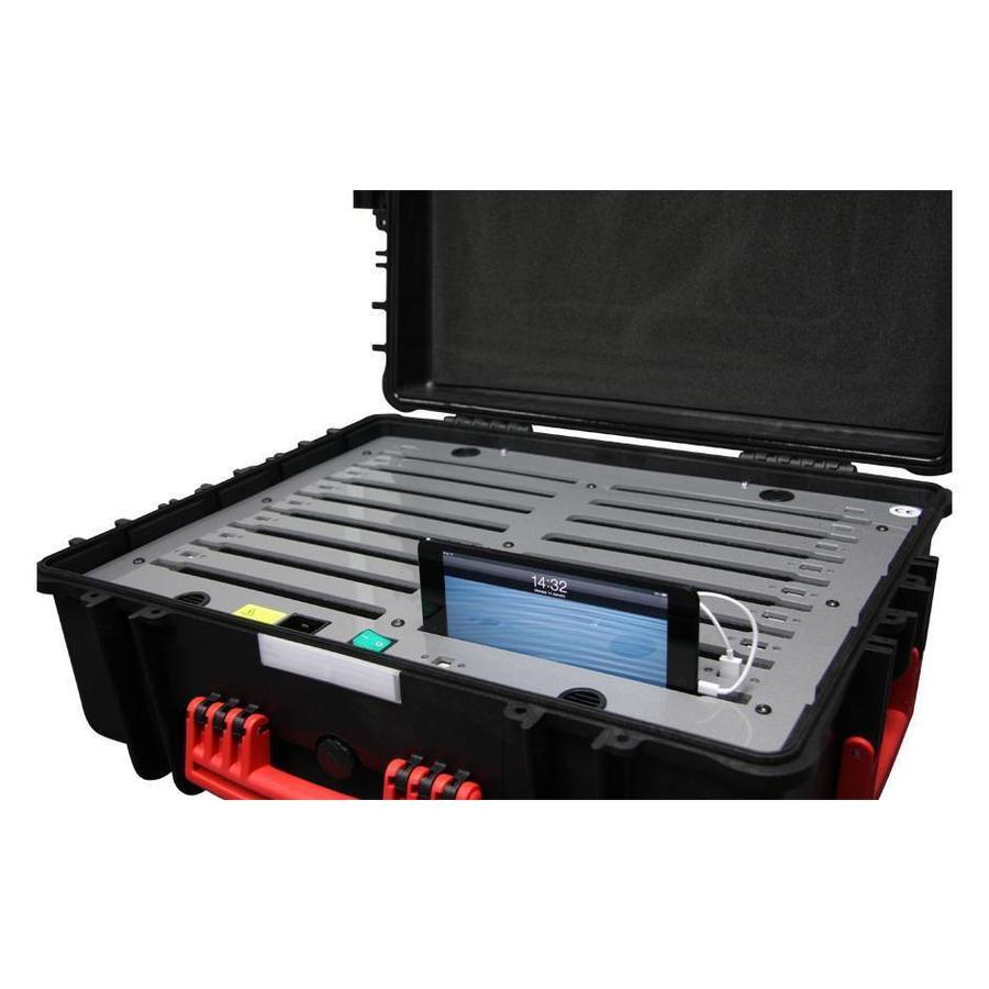 iNsync C34 Speicher-, Lade-, Synchronisations- und Transportkoffer für bis zu 16 kleine iPads oder 7-8 Zoll-Tablets-6