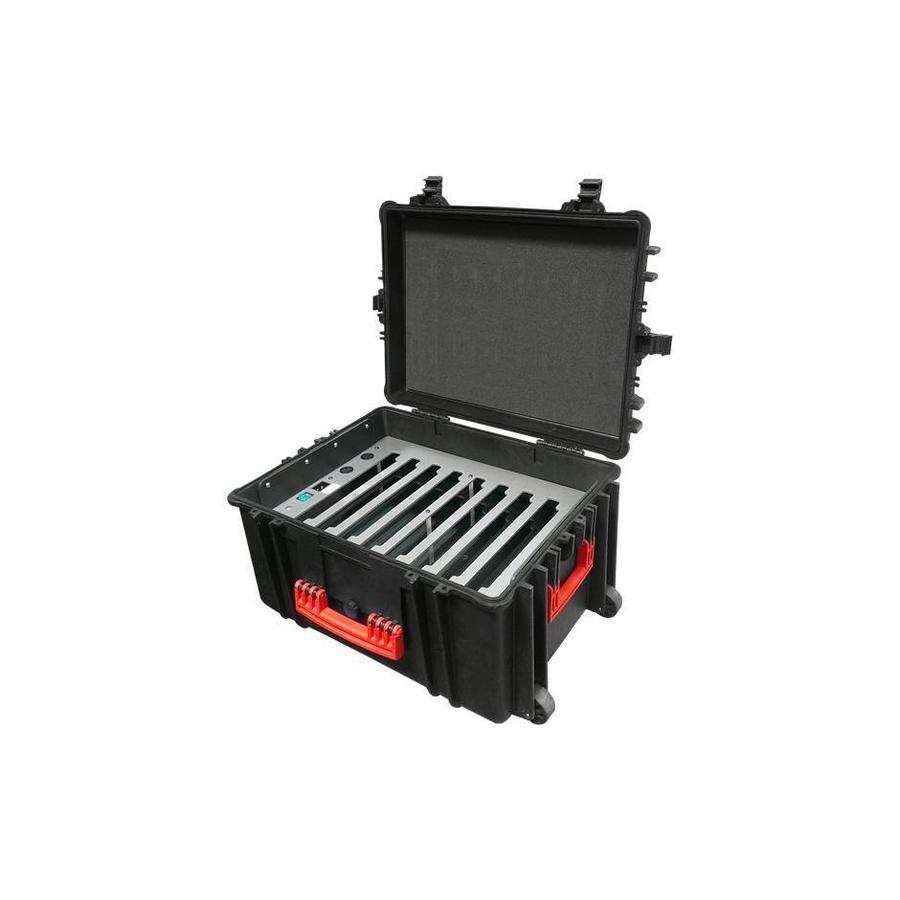 iNsync C61 Speicher, Lade-, Synchronisation- und Transportkoffer für bis zu 8 iPads oder 10-11 Zoll Tablets-7