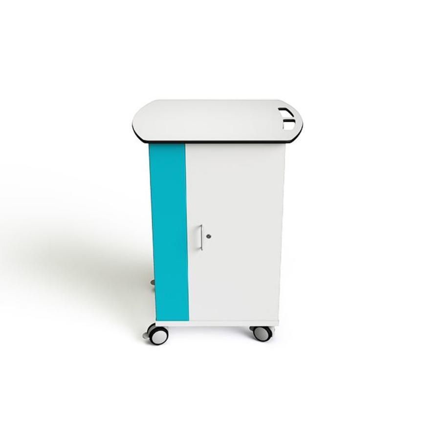 Mobiler Ladeschrank mit 4 Räder für 16 Chromebooks, Laptops en Notebooks bis zu 15,6 Zoll-2