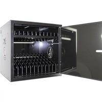 thumb-BRVD12 Ladeschrank für 12 Tablet oder Laptops bis 17 Zoll - Schwarz-1