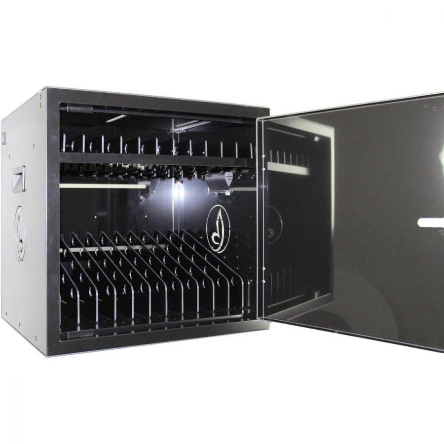 BRVD12 Ladeschrank für 12 Tablet oder Laptops bis 17 Zoll - Schwarz-1