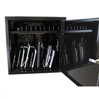 thumb-BRVD12 Ladeschrank für 12 Tablet oder Laptops bis 17 Zoll - Schwarz-2