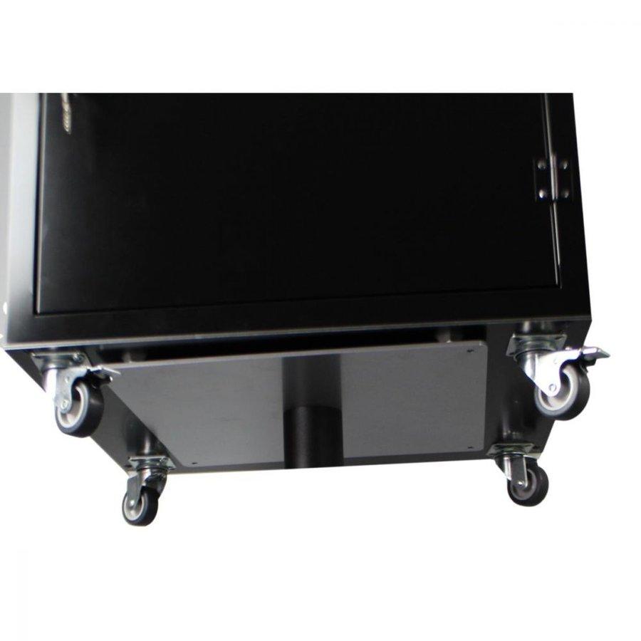 BRVD12 Ladeschrank für 12 Tablet oder Laptops bis 17 Zoll - Schwarz-4